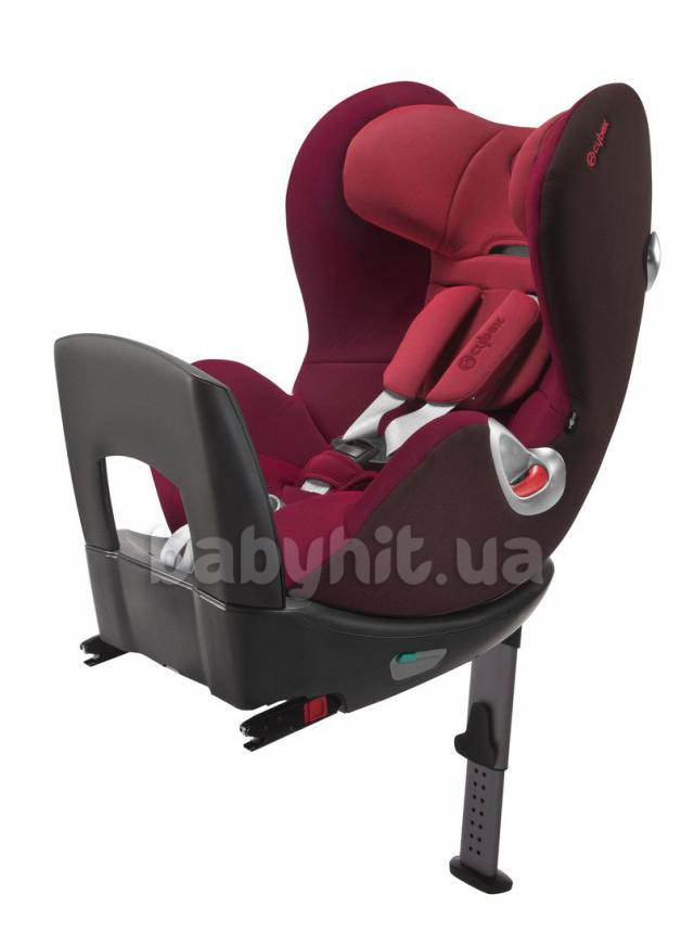 Автокресло 0/1  Cybex Sirona PLUS Poppy red