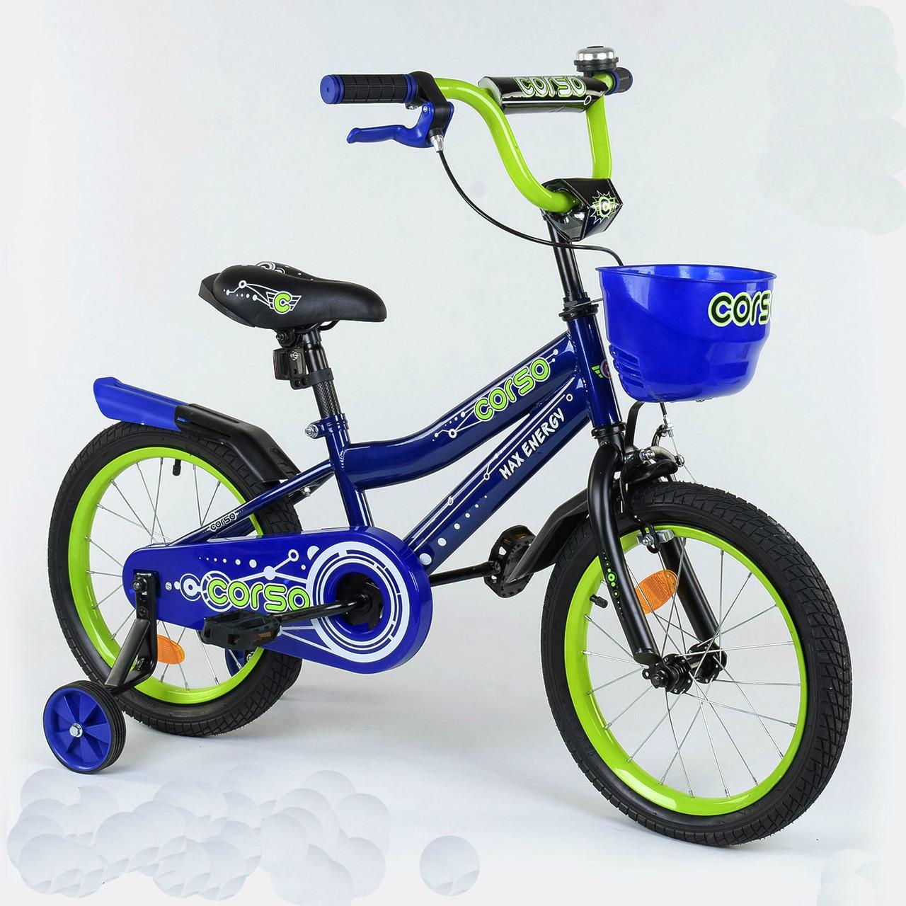 """Велосипед 16"""" дюймов 2-х колёсный R - 16802 """"CORSO"""" 77169"""