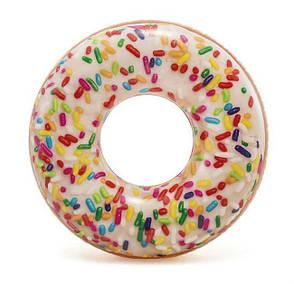 Intex 56263 Надувной круг Пончик с присыпкой, фото 2