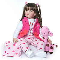Кукла реборн 62 см девочка Алина