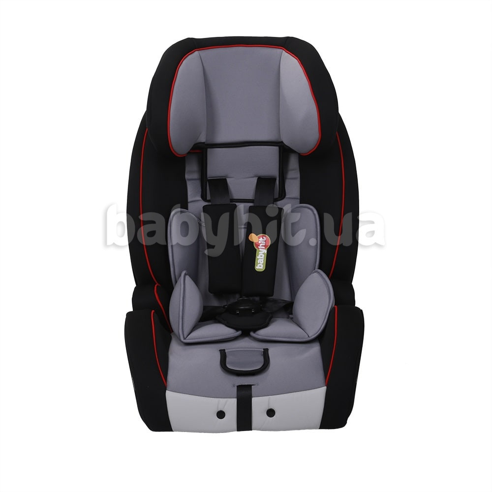 Автокресло 1/2/3 Babyhit Gallant Isofix Black/Grey