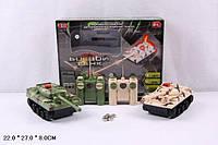 "Р.У.Танк PLAY SMART 9672 ""Боевой танк"" муз.свет.набор 2шт.в кор.27*8*22 ш.к./36/ (9672)"