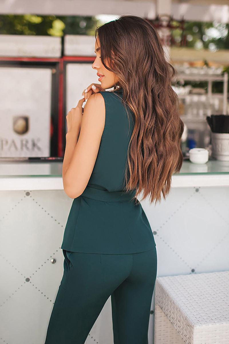 (S, M, L) Шикарний жіночий зелений костюм Astrid