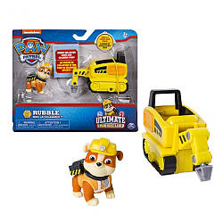 Щенячий патруль Paw Patrol Чрезвычайная миссия Крепыш и минибульдозер Ultimate Rescue Rubble's Mini Jackhammer