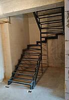 Металлокаркас лестницы. Лестница из металла в квартиру, дом, таунхаус и др.