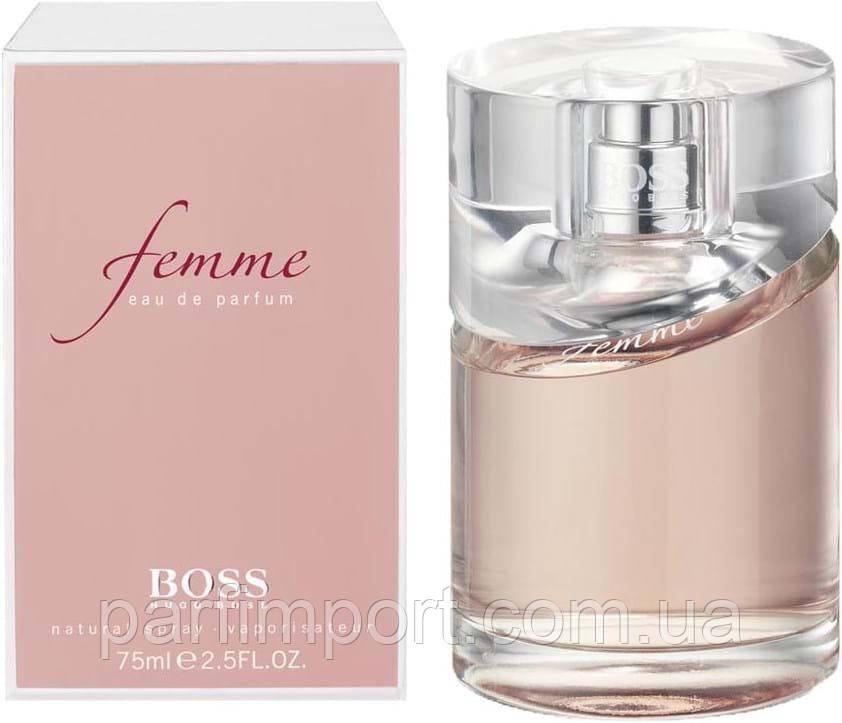 Boss FEMME edp 75 ml  парфюмированная вода женская (оригинал подлинник  США)