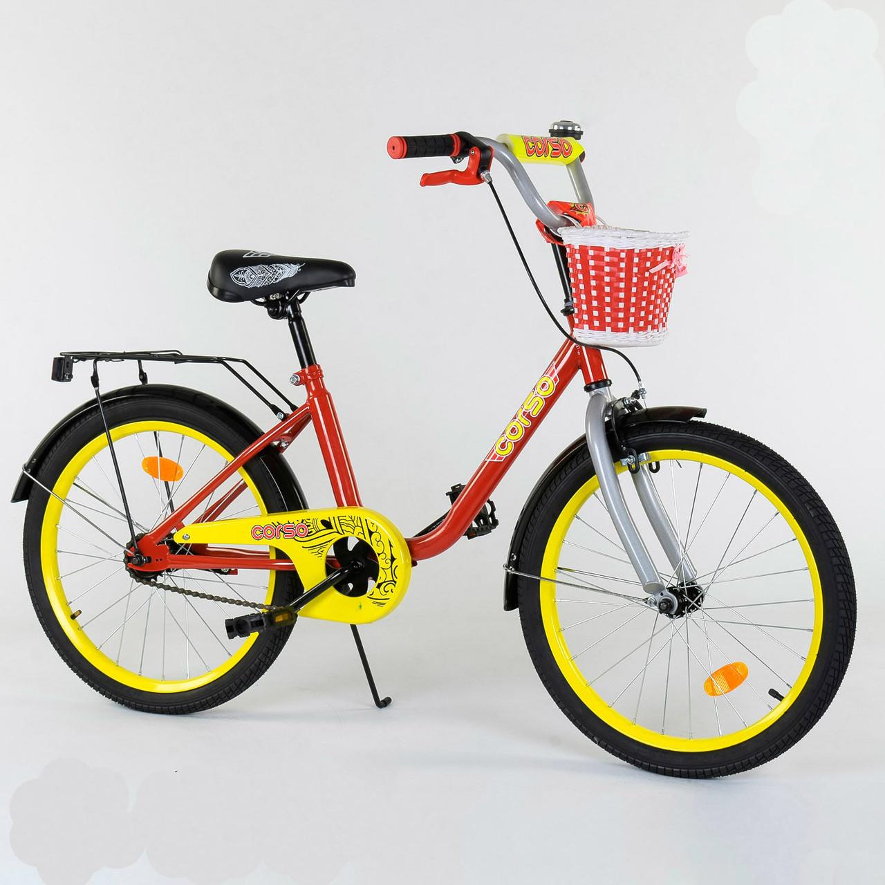 """Велосипед 16"""" дюймов 2-х колёсный 1685 """"CORSO"""" 78209"""