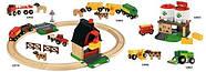 Железная дорога BRIO Деревянная ж/д с переездом и мини-фермой 33719, фото 10