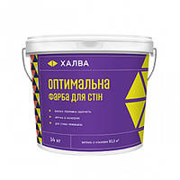 Халва Оптимальная  краска для стен, 14 кг