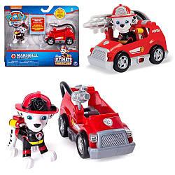 Щенячий патруль PawPatrol Чрезвычайная миссия Маршал и мини пожарная Ultimate Rescue Marshall's Mini Fire Car