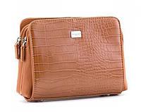 Женская стильная сумка David Jones (352) розовая, фото 1