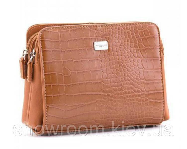 Женская стильная сумка David Jones (352) розовая