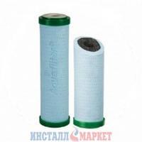 Двухступенчатый антибактериальный угольный картридж Aquafilter FCPS5-BL-AB