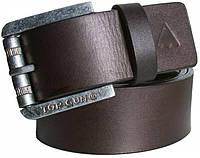 Кожаный ремень Top Gun Dark Brown Buff Harness Leather Belt TGB1407(Brown)