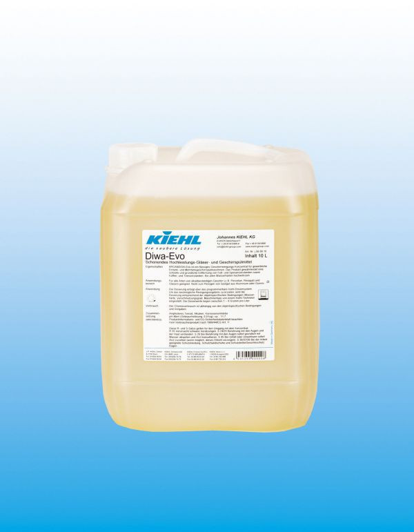 DIWA-Evo, средство для мытья посуды в профессиональных посудомоечныч машинах 10 л. KIEHL