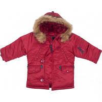 Детская куртка аляска Youth N-3B Parka (красная), фото 1