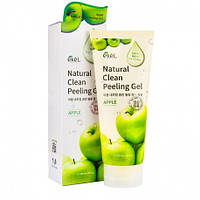 Пилинг-скатка с экстрактом зеленого яблока Ekel Natural Clean Peeling Gel Apple