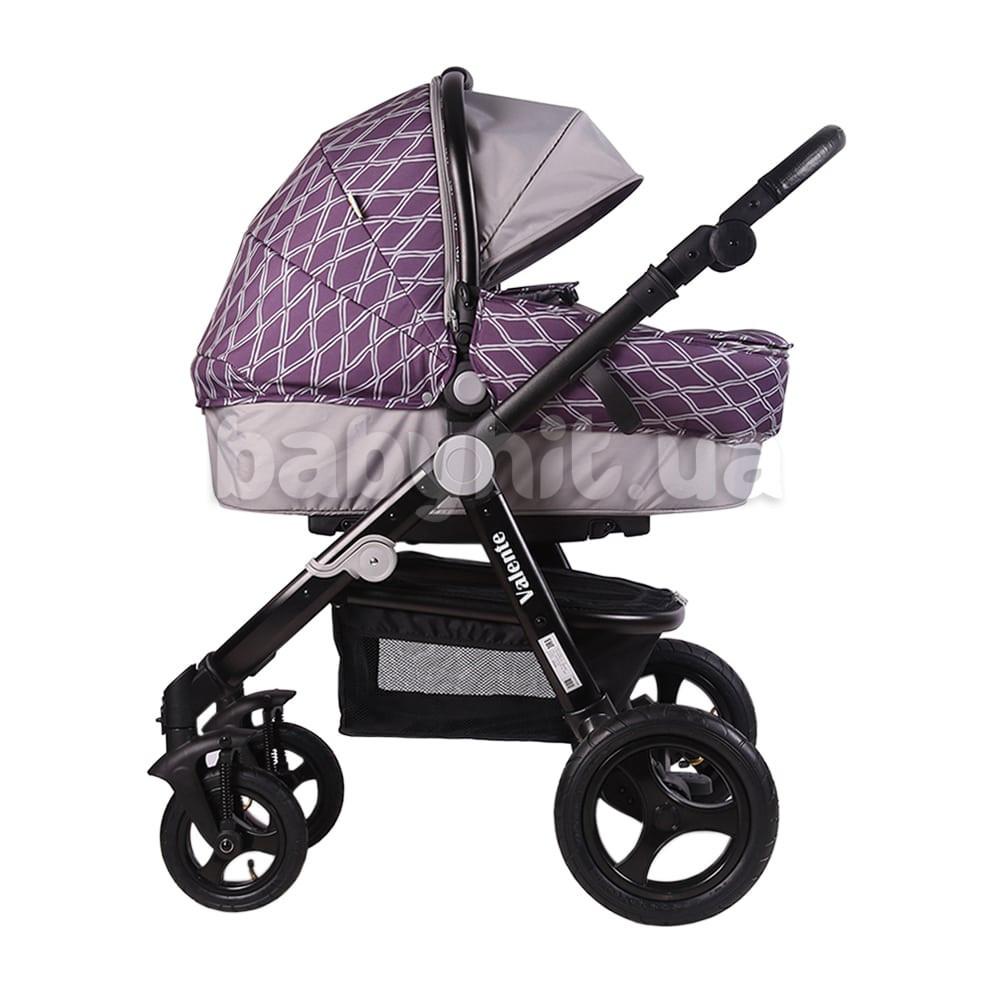 Универсальная коляска 2 в 1 Babyhit Valenta  Violet Grey
