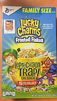 Сухой завтрак Lucky Charms овсяные фигурки с цветным маршмэллоу, 592 г