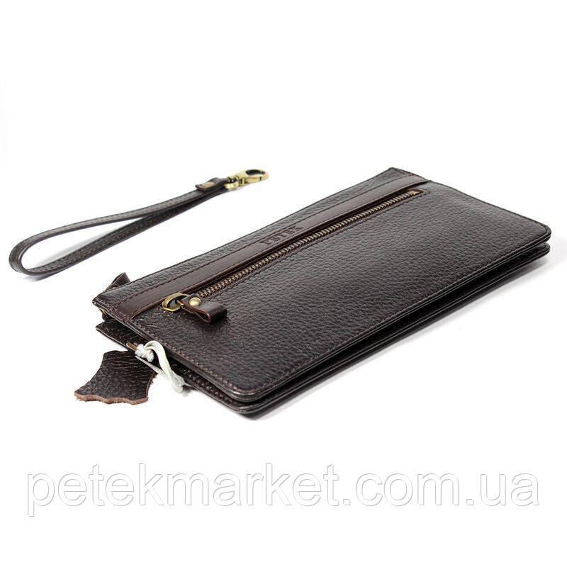 Кожаная мужская сумка (клатч) Petek 702
