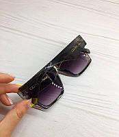 Сонцезахисні окуляри Celine квадратні чорні