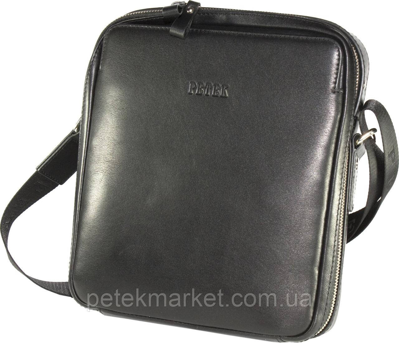 Кожаная мужская сумка Petek 3861
