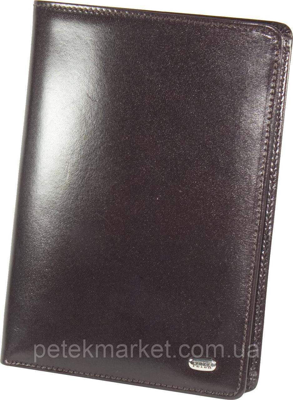 Кожаное мужское портмоне Petek 378