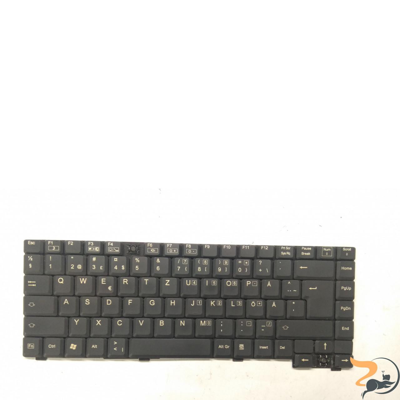 Клавіатура для ноутбука Fujitsu Amilo D1840, D1845, A1630, Б/В. Відсутні клавіші(фото)