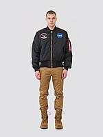 Куртка Alpha Industries Apollo MA-1 Flight Jacket (черная), фото 1