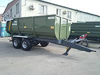 Тракторный самосвальный прицеп ТСП-10 до МТЗ-80. Грузоподъемность 8 т.