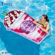 Intex 58777 Надувний матрац-плотик Ягідний Коктейль 198х107см
