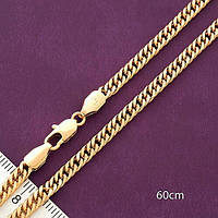 Цепочка из медицинского золота 60см*4мм . Xuping
