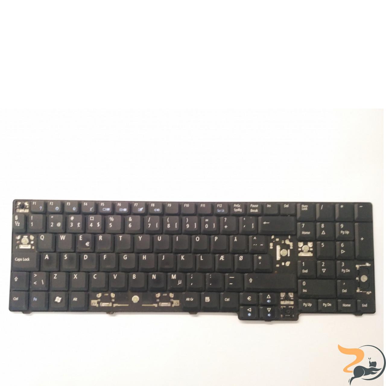 Клавіатура для ноутбука Acer Aspire 7520G, робоча клавіатура, відсутні клавіші(фото)