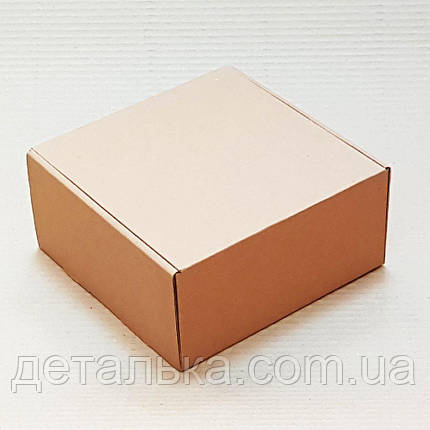 Самосборные картонные коробки 260*260*30 мм., фото 2