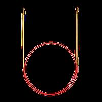 Спицы Addi 60 см/4.5 мм круговые c удлиненным кончиком