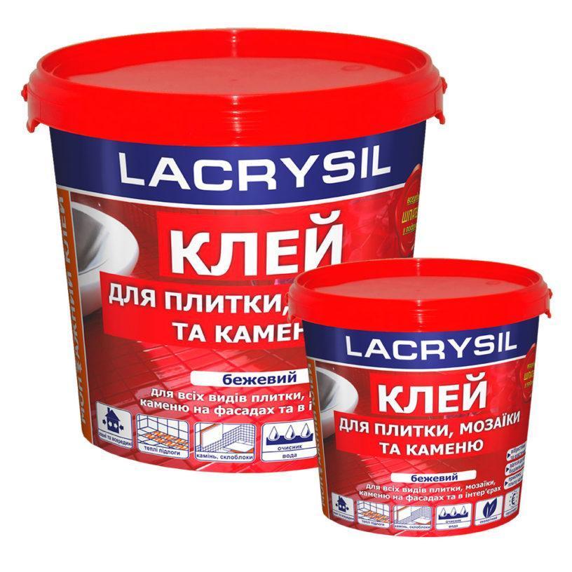 Клей для плитки та мозаїки LACRYSIL 15кг