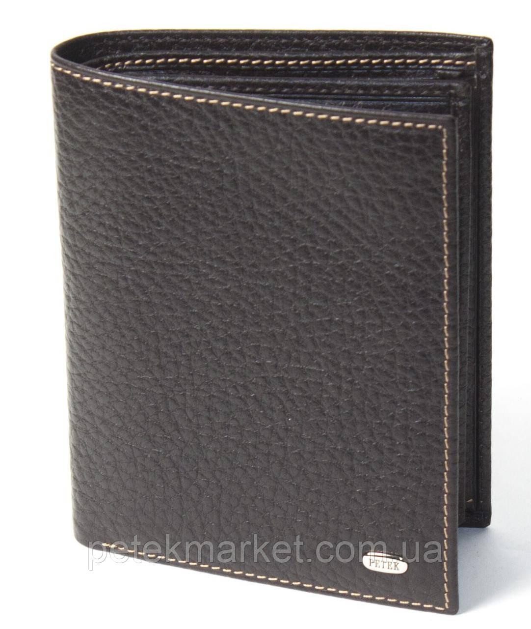 Кожаное мужское портмоне Petek 211