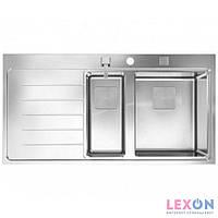 Кухонная мойка из нержавеющей стали Teka Zenit R15 1 1/2B 1D LHD (13139008) полірована