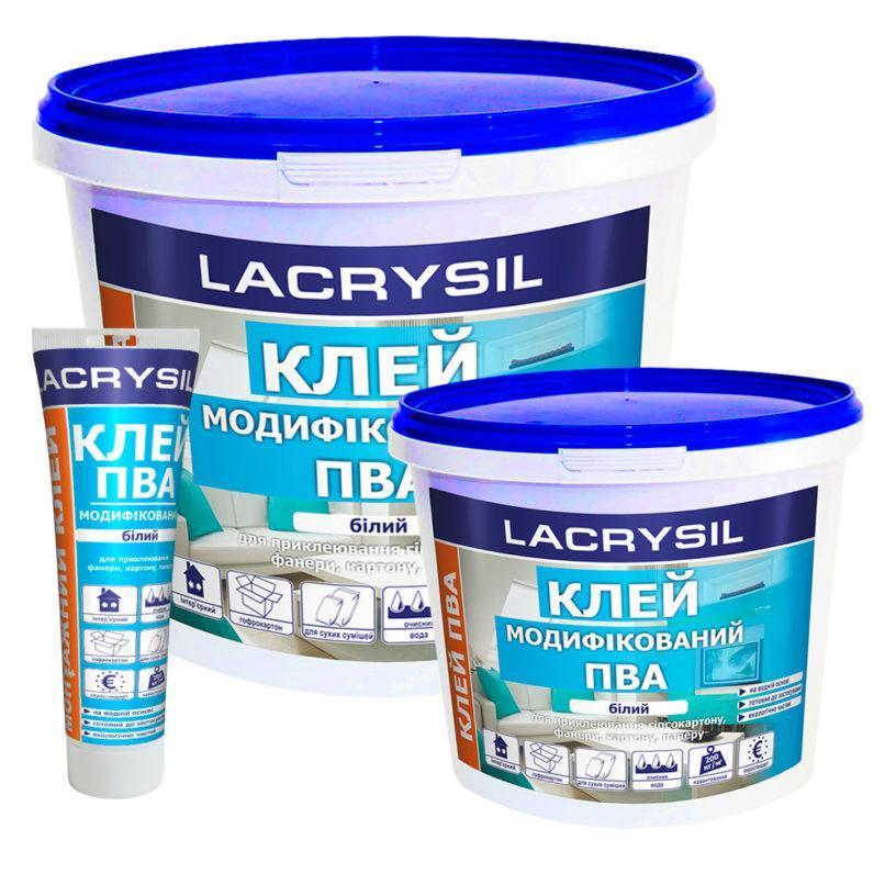 ПВА модифікований LACRYSIL 0,9кг (ящик 6 шт)
