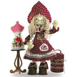 Наборы для шитья каркасных интерьерных кукол «Любимые герои»