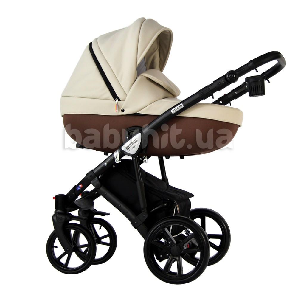 Универсальная коляска 2 в 1 Retrus Milano Beige
