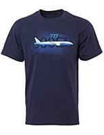 Оригинальная футболка Boeing 777 Graphic Profile T-shirt 110010010764 (Navy)