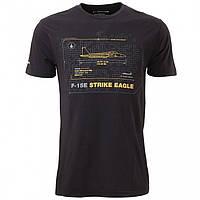 Оригінальна футболка Boeing F-15E Strike Eagle Schematics T-Shirt 110010010847 (Black)