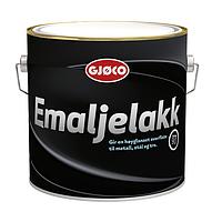 Краска для металла антикоррозионная Gjoco Emaljelakk (С), 2,7 л, эмаль лак внутренняя, наружная