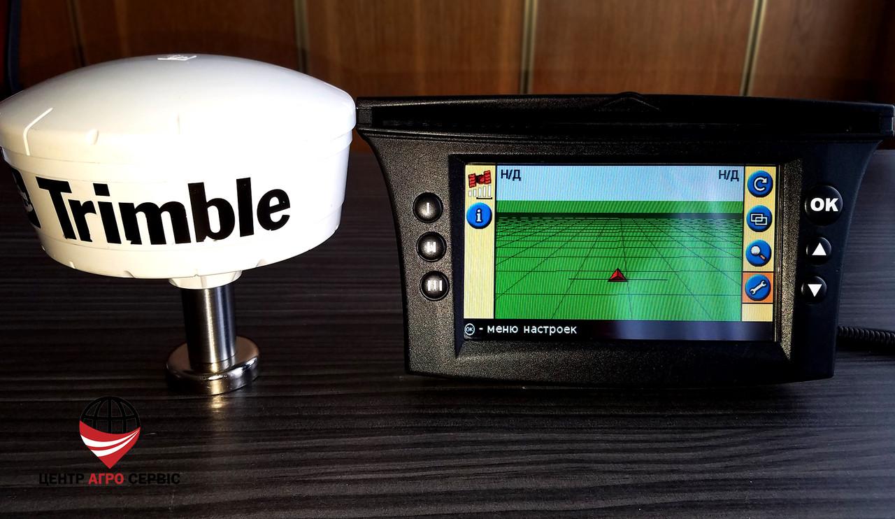 GPS навигатор для трактора Trimble Ez Guide 500, курсоуказатель агронавигатор
