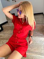 Женский летний шикарный комбинезон ромпер ткань софт три цвета скл.1 арт. 55912