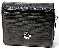 Женское портмоне Petek 457, Черный, 2, 5+, Вертикальное, Рептилия, Внутри, Матовая, Стандартное, фото 1