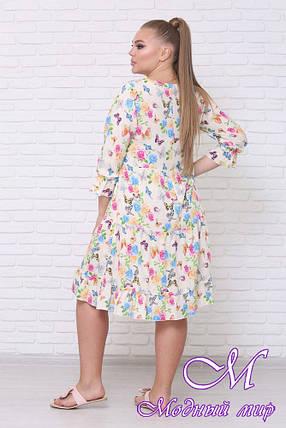Яркое летнее платье большого размера (р. 42-90) арт. Амалия, фото 2