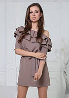 """Платье с воланом """"Лилит"""", фото 1"""