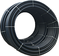 Труба ПЭ техническая 90х6,7мм 10 бар SDR13,6 бухта 100м